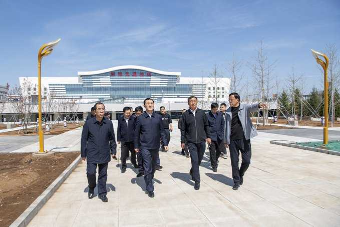 谢卫东调研城市建设管理工作时强调 打造生态绿色宜居