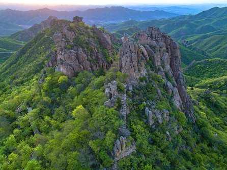 <b>燕都圣山,辽西绿岛――大黑山旅游景区</b>